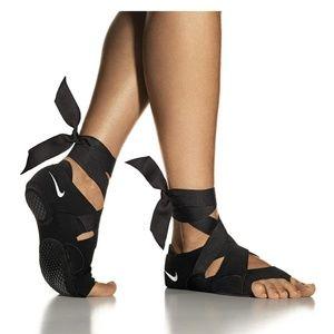 Nike Black Studio Wraps + Flats